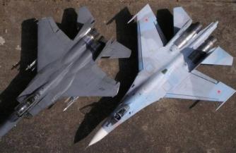 Су-27 одолел F-15