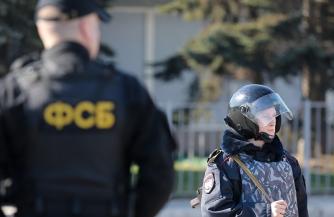 В Крыму поймали «блокиратора»