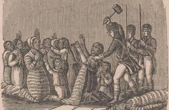 Резня индейцев-христиан