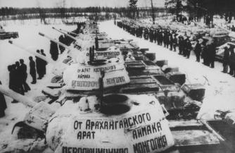Монгольские добровольцы Великой Победы
