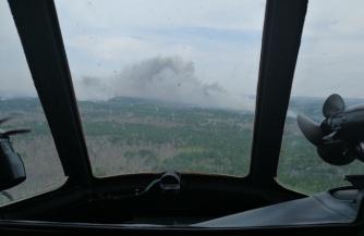 Армия сражается с пожарами