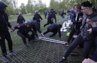 Майское беснование в Екатеринбурге