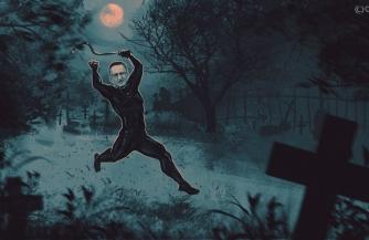 Его боятся на кладбищах Москвы
