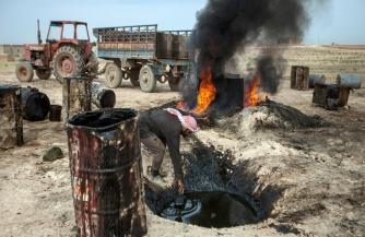 Разминирование и битва за нефть