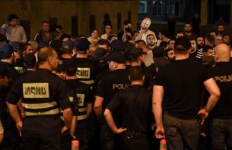 «Дырявый» майдан в Тбилиси