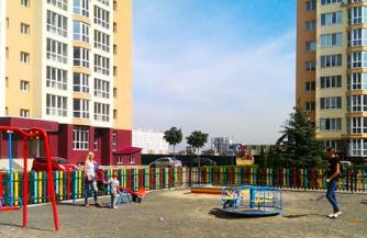 Новый жилой комплекс возле Святошинского района: Sofievska Sfera