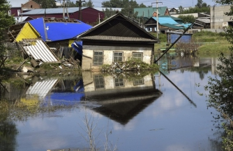 Иркутская область в воде