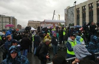 Митинг «оппозиции» на Сахарова стал обычным музыкальным фестивалем