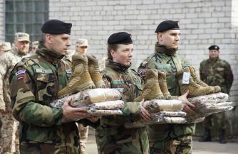 Латвийские ополченцы «потяжелеют»
