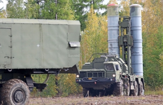 """С-400 """"Триумф"""" прикрыли Новосибирск"""