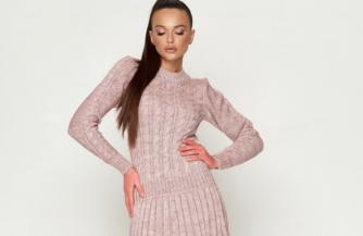 7 новинок женского гардероба – выбираем вязаные платья актуальные в холодном сезоне 2019-2020