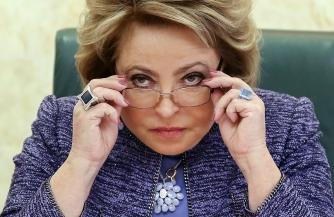 Матвиенко предложили  уйти в отставку