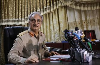 Хафтар в письме Путину выразил благодарность за возможность провести переговоры по Ливии в Москве