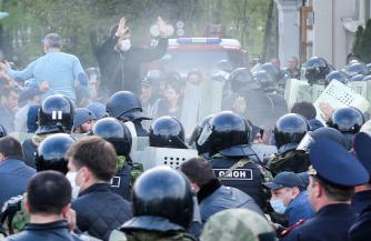 Протест и пандемия
