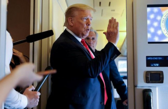 Гегемон трясет. Трамп в бункере