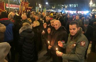 Православные Черногории на защите СПЦ