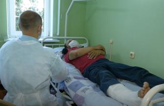 Увечья белорусских правоохранителей