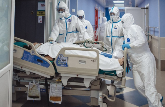 Места в больницах заполнены на 81%