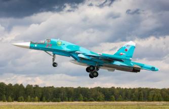 Экипажи Су-34 обрушили «бомбовый дождь»