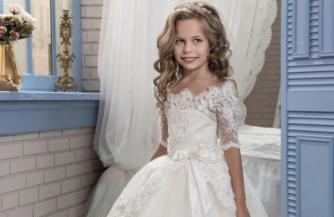 Детские нарядные платья: фасоны, цвета, актуальные аксессуары