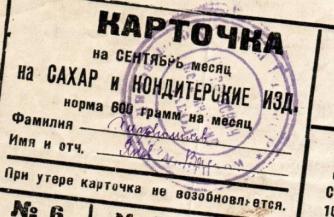 Продуктовые карточки для россиян