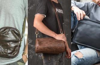 Выбираем модную мужскую сумку в 2021 году