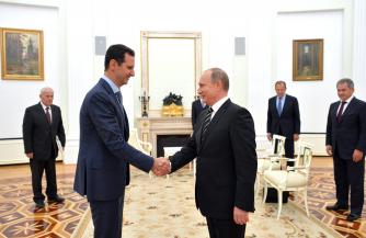 Необъявленный визит Асада