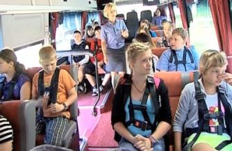 Автобус-тренажер «Школа дорожной безопасности»