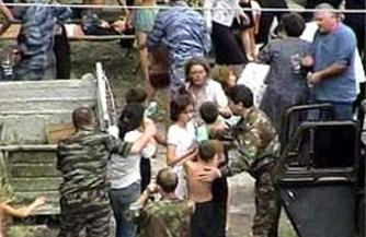 Террористы начали убивать детей еще до начала силовой операции