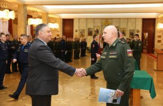 Управленцы стратегического уровня прошли ритуал посвящения в слушатели Академии Генерального штаба