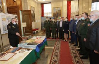 Выставка, посвященная 115-летию подводного флота России, открылась в Военной академии Генерального штаба