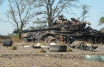 Атака украинских карателей захлебнулась под Дебальцево