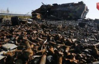 В окрестностях Иловайска найдено около 500 неопознанных тел