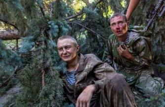 Ополченцы выдали плачущего украинского десантника