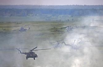 На Южном Урале проходят учения вертолетной авиации
